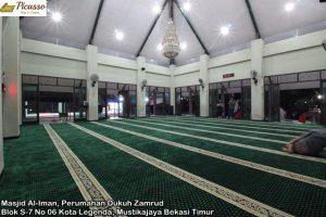 Masjid Al-Iman, Perumahan Dukuh Zamrud Blok S-7 No 06 Kota Legenda, Mustikajaya Bekasi Timur3