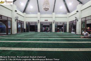 Masjid Al-Iman, Perumahan Dukuh Zamrud Blok S-7 No 06 Kota Legenda, Mustikajaya Bekasi Timur5