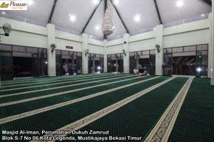 Masjid Al-Iman, Perumahan Dukuh Zamrud Blok S-7 No 06 Kota Legenda, Mustikajaya Bekasi Timur7