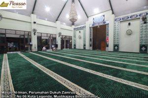 Masjid Al-Iman, Perumahan Dukuh Zamrud Blok S-7 No 06 Kota Legenda, Mustikajaya Bekasi Timur8