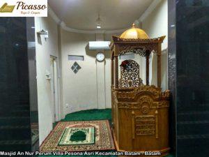 Masjid An Nur Perum Villa Pesona Asri Kecamatan Batam - Batam8