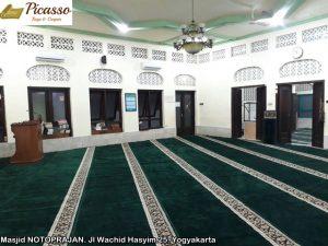 Masjid NOTOPRAJAN. Jl Wachid Hasyim 25. Yogyakarta