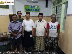 Masjid ROUDHOH Jl Rajawali Tegal Kepatihan Bareng Klaten Jogja2