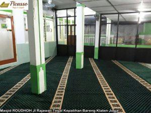 Masjid ROUDHOH Jl Rajawali Tegal Kepatihan Bareng Klaten Jogja5