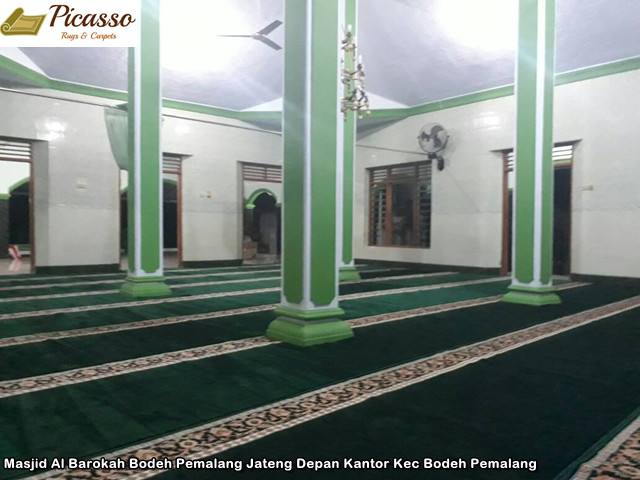 Masjid Al Barokah Bodeh Pemalang Jateng Depan Kantor Kec Bodeh Pemalang10