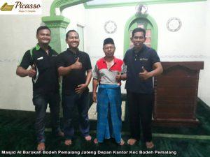 Masjid Al Barokah Bodeh Pemalang Jateng Depan Kantor Kec Bodeh Pemalang3