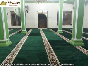 Masjid Al Barokah Bodeh Pemalang Jateng Depan Kantor Kec Bodeh Pemalang5