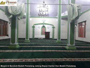 Masjid Al Barokah Bodeh Pemalang Jateng Depan Kantor Kec Bodeh Pemalang9