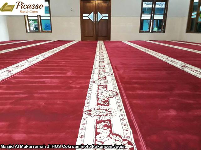 Masjid Al Mukarromah Jl HOS Cokroaminoto Pakuncen Jogja3