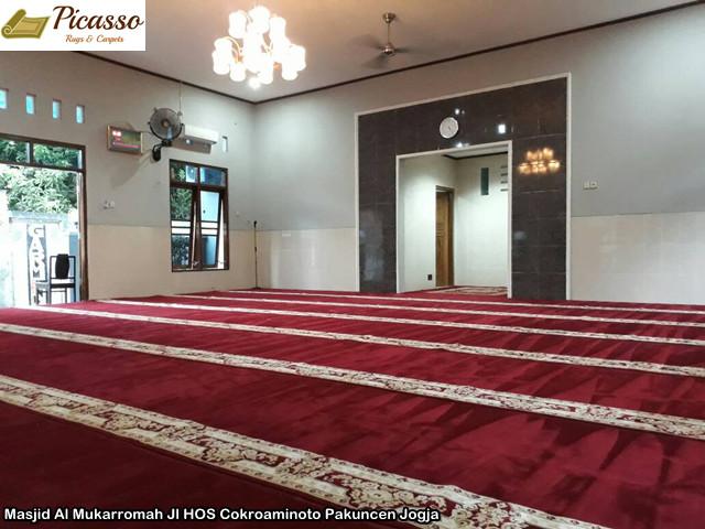 Masjid Al Mukarromah Jl HOS Cokroaminoto Pakuncen Jogja4