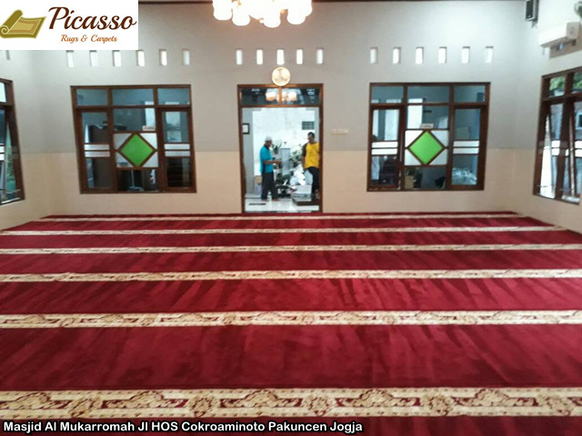 Masjid Al Mukarromah Jl HOS Cokroaminoto Pakuncen Jogja5