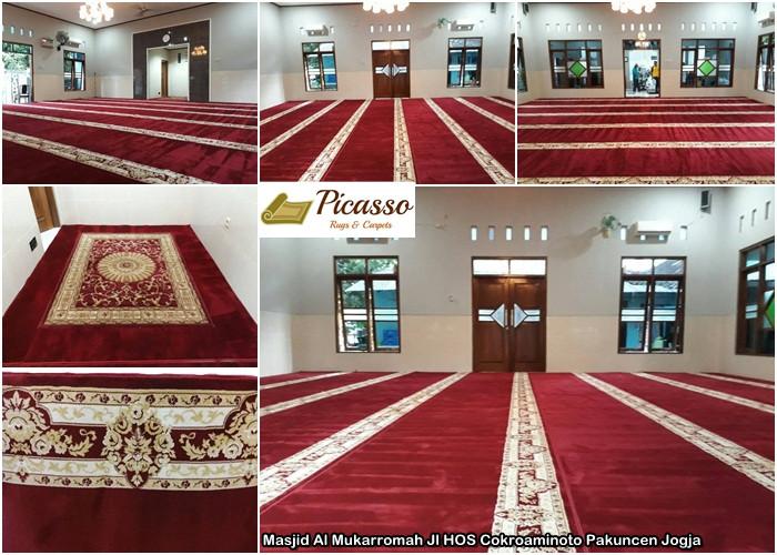 Masjid Al Mukarromah Jl HOS Cokroaminoto Pakuncen Jogja_