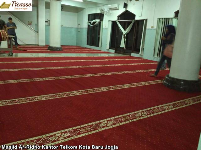 Masjid Ar-Ridho Kantor Telkom Kota Baru Jogja1