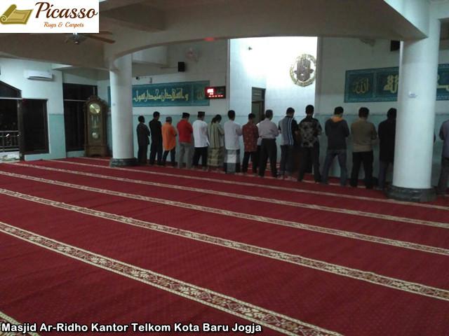 Masjid Ar-Ridho Kantor Telkom Kota Baru Jogja3