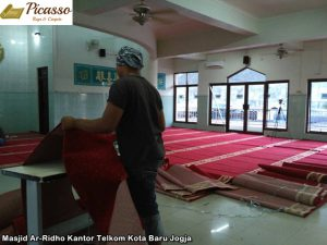 Masjid Ar-Ridho Kantor Telkom Kota Baru Jogja4