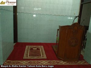 Masjid Ar-Ridho Kantor Telkom Kota Baru Jogja6