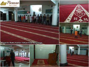 Masjid Ar-Ridho Kantor Telkom Kota Baru Jogja7