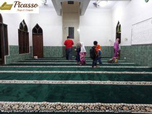 Masjid Baitul Izzah Jl Jambon Gumuk Tempuran,  Sinduadi Mlati -  Sleman