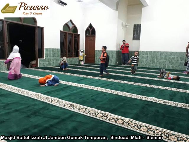 Masjid Baitul Izzah Jl Jambon Gumuk Tempuran, Sinduadi Mlati - Sleman4