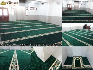 Masjid Khusnul Hidayah LDII Jl Tulang Bawang Utara Banjarsari Surakarta