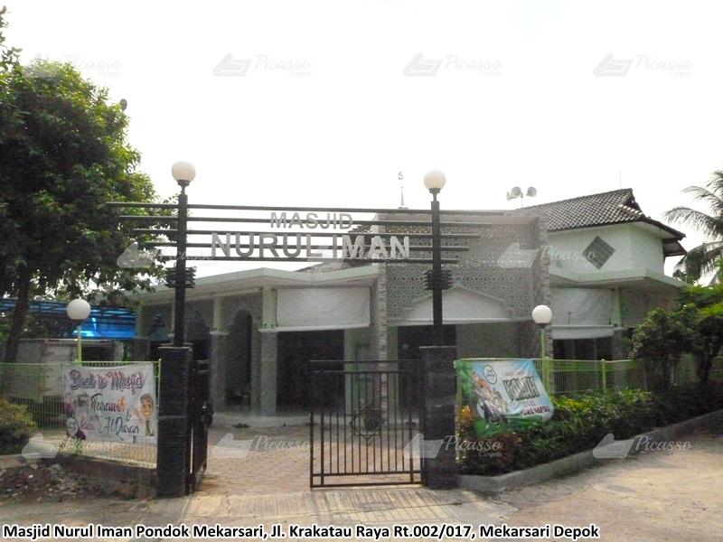 Masjid Nurul Iman Pondok Mekarsari Jl. Krakatau Raya Rt.002/017 Mekarsari Depok