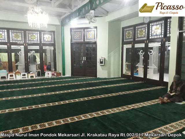 Masjid Nurul Iman Pondok Mekarsari Jl. Krakatau Raya Rt.002 017 Mekarsari Depok
