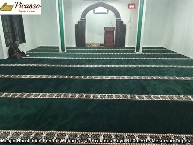 Masjid Nurul Iman Pondok Mekarsari Jl. Krakatau Raya Rt.002 017 Mekarsari Depok1