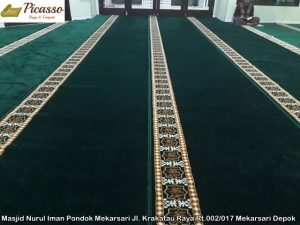 Masjid Nurul Iman Pondok Mekarsari Jl. Krakatau Raya Rt.002 017 Mekarsari Depok3