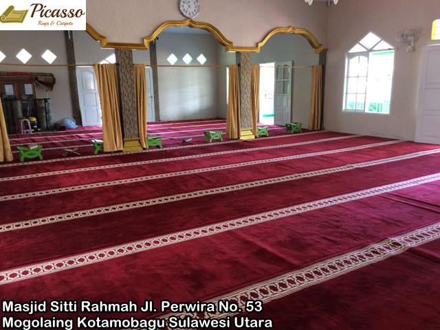 Masjid Sitti Rahmah Jl. Perwira No. 53 Kel. Mogolaing Kotamobagu Sulawesi Utara 4