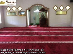 Masjid Sitti Rahmah Jl. Perwira No. 53 Kel. Mogolaing Kotamobagu Sulawesi Utara 6