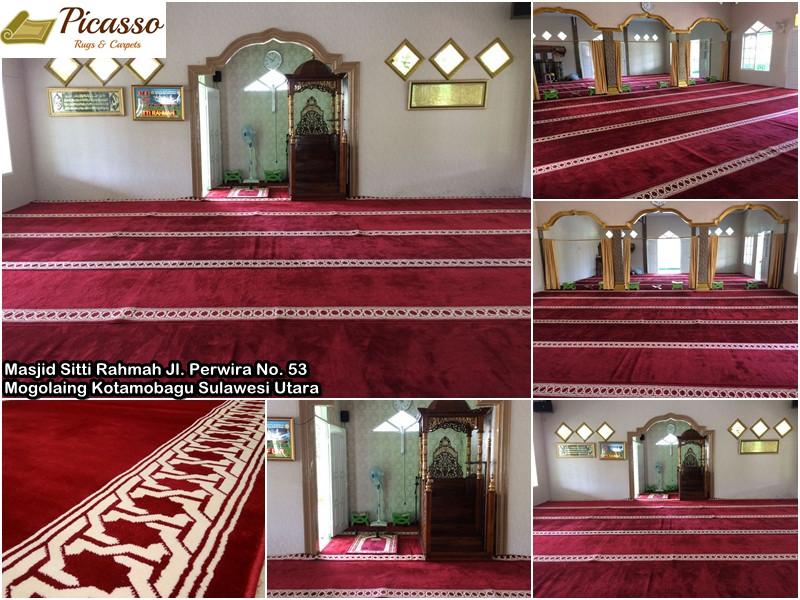 Masjid Sitti Rahmah Jl. Perwira No. 53 Kel. Mogolaing Kotamobagu Sulawesi Utara 9