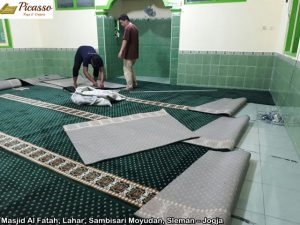Masjid Al Fatah, Lahar, Sambisari Moyudan, Sleman – Jogja