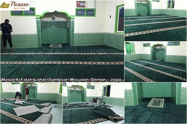 Masjid Al Fatah, Lahar, Sambisari Moyudan, Sleman – Jogja6