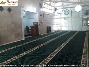 Masjid Al-Ikhsan, Jl Rajawali Selatan Raya No 1 Pademangan Timur Jakarta Utara