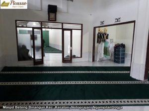 Masjid Beteng Binangun Kec. Keraton, Notoprajan, Ngampilan Jogja5