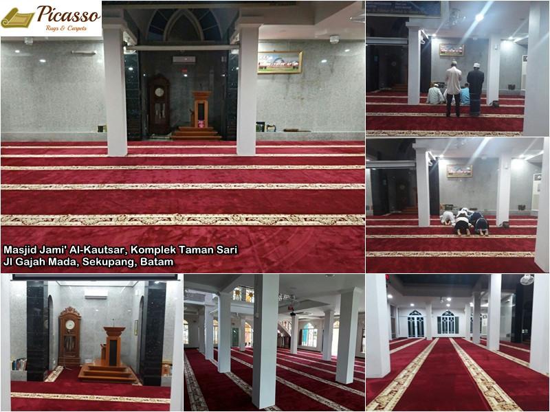 Masjid Jami' Al-Kautsar, Komplek Taman Sari, Jl Gajah Mada, Sekupang, Batam