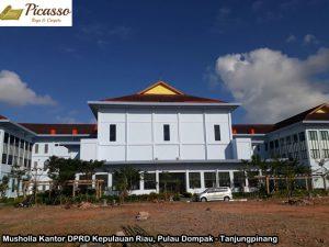 Musholla Kantor DPRD Kepulauan Riau, Pulau Dompak - Tanjungpinang6