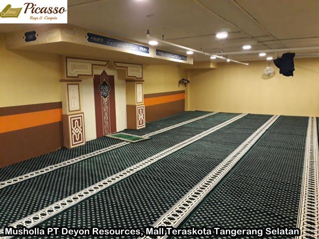 Musholla PT Deyon Resources, Mall Teraskota Tangerang Selatan