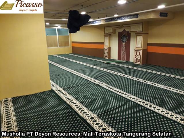 Musholla PT Deyon Resources, Mall Teraskota Tangerang Selatan2