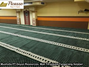 Musholla PT Deyon Resources, Mall Teraskota Tangerang Selatan3