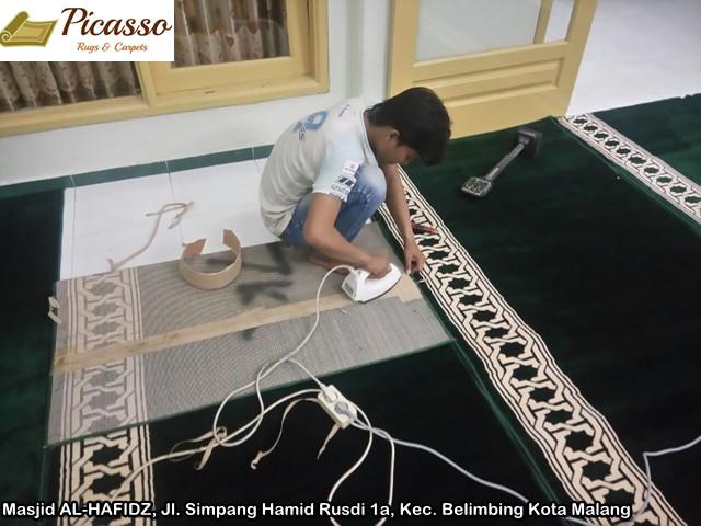 Masjid AL-HAFIDZ, Jl. Simpang Hamid Rusdi 1a, Kec. Belimbing Kota Malang3