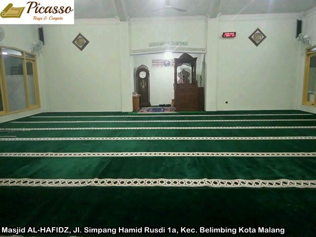 Masjid AL-HAFIDZ, Jl. Simpang Hamid Rusdi 1a, Kec. Belimbing Kota Malang4