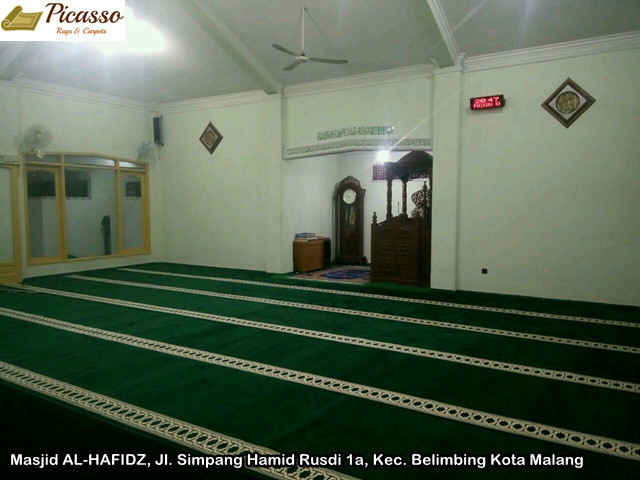 Masjid AL-HAFIDZ, Jl. Simpang Hamid Rusdi 1a, Kec. Belimbing Kota Malang5