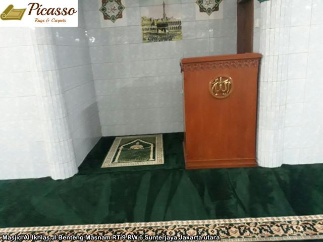 Masjid Al-Ikhlas Jl Benteng Masnam RT 9 RW 6 Sunterjaya Jakarta utara 1