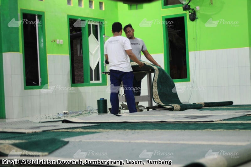Masjid Abdullah bin Rowahah Sumbergirang Lasem Rembang Jawa Tengah