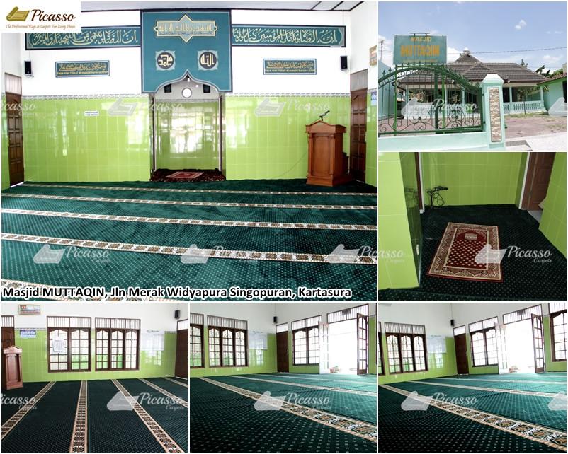 MASJID MUTTAQIN, Jl Merak Widyopura Singopuran, Kartasura