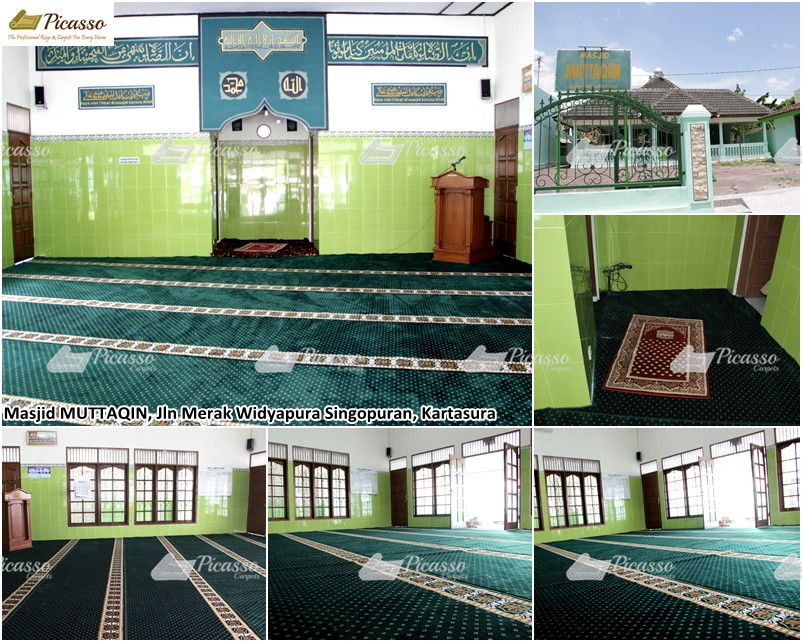 MASJID MUTTAQIN, Jl Merak Widyopura Singopuran, Kartasura – Sukoharjo Jawa Tengah