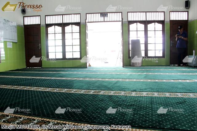 MASJID MUTTAQIN, Jl Merak Widyopura Singopuran, Kartasura 2