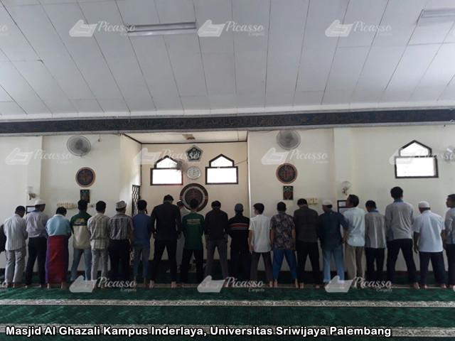 Masjid Al Ghazali Kampus Inderlaya, Universitas Sriwijaya Palembang18