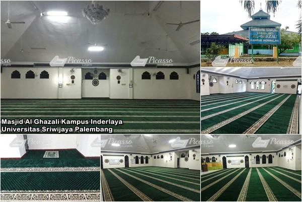 Masjid Al Ghazali Kampus Inderlaya, Universitas Sriwijaya Palembang20